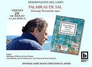 Presentación libro de poemas ´Palabras de sal´de Domingo Fernández Ágis