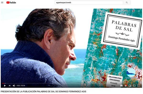 ´Palabras de sal´: Vídeo Completo presentación poemariio ¨del profesor de Fiosofía Domingo Fernández Agis de la #ULL