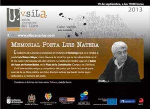 homenaje memorial poeta luis natera
