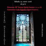 El III Recital Poético «Luis NATERA» cierra la Semana NATERARIA